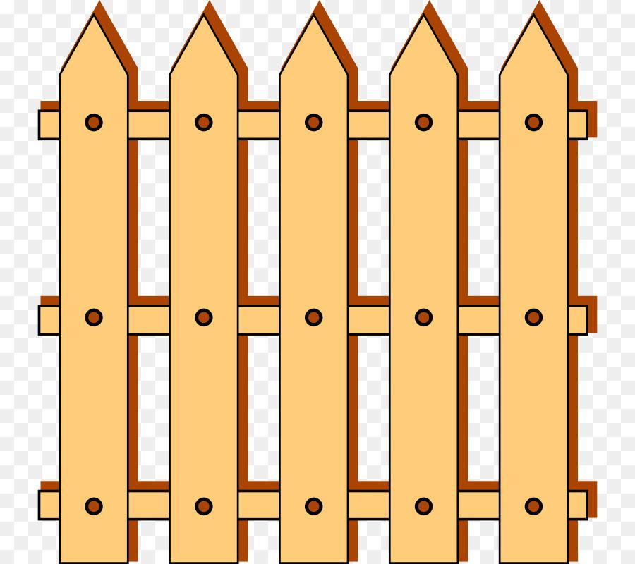 900x800 Picket Fence Split Rail Fence Clip Art