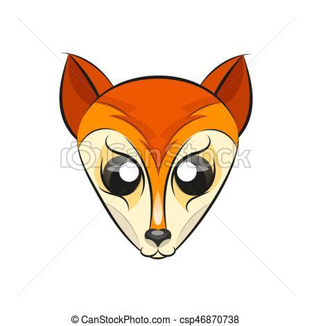 450x470 Fox Head Logo. Fox Head Wolf Head Logo Vector Illustration Vectors