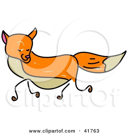 450x470 Royalty Free (Rf) Fox Clipart, Illustrations, Vector Graphics