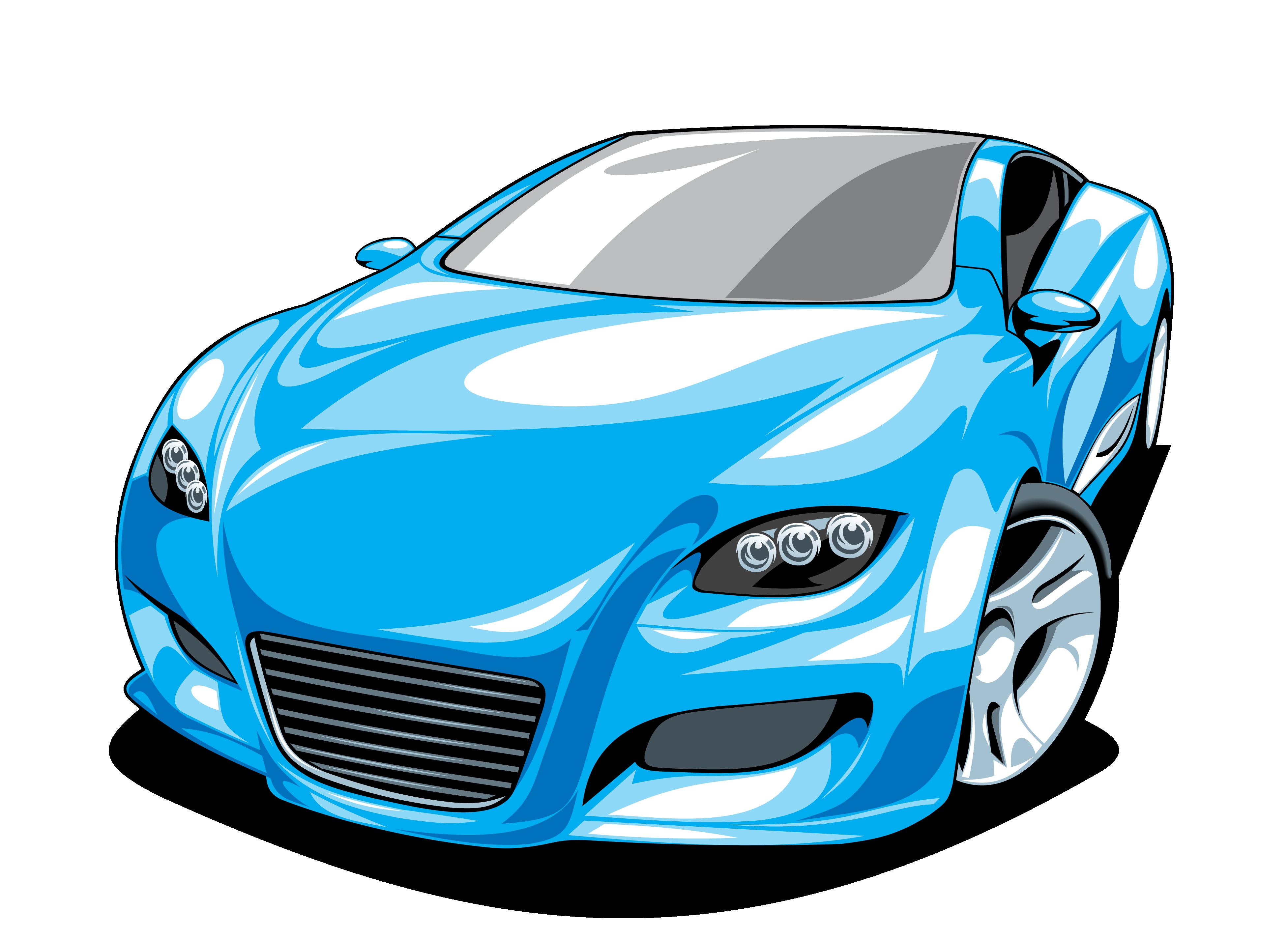 3908x2850 Cartoon Sports Car Images