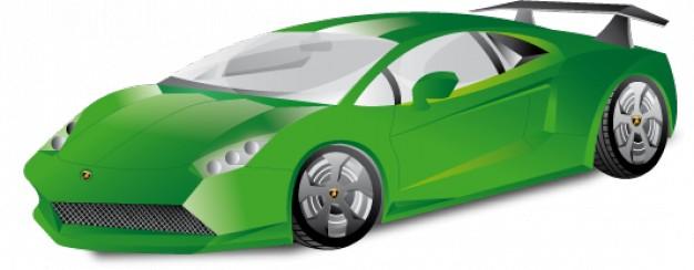 626x244 Lamborghini Clipart Blue Sports Car Free Collection Download