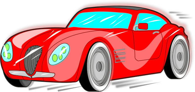 665x314 Collection Of Red Sports Car Clipart High Quality, Free