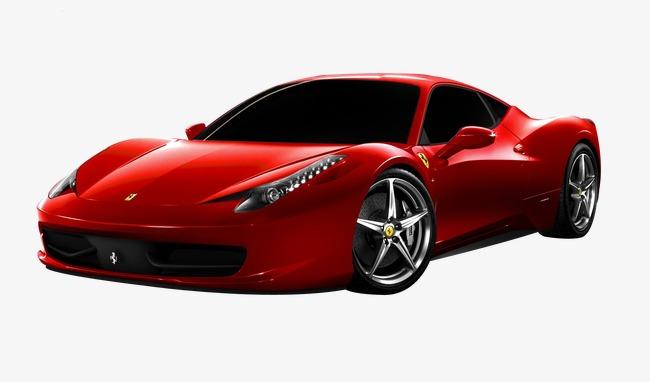650x382 Red Ferrari Sports Car, Product Kind, Ferrari, Racing Png Image