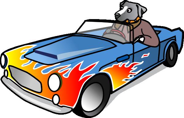 600x383 Sports Car Clipart Dog In Sports Car Clip Art
