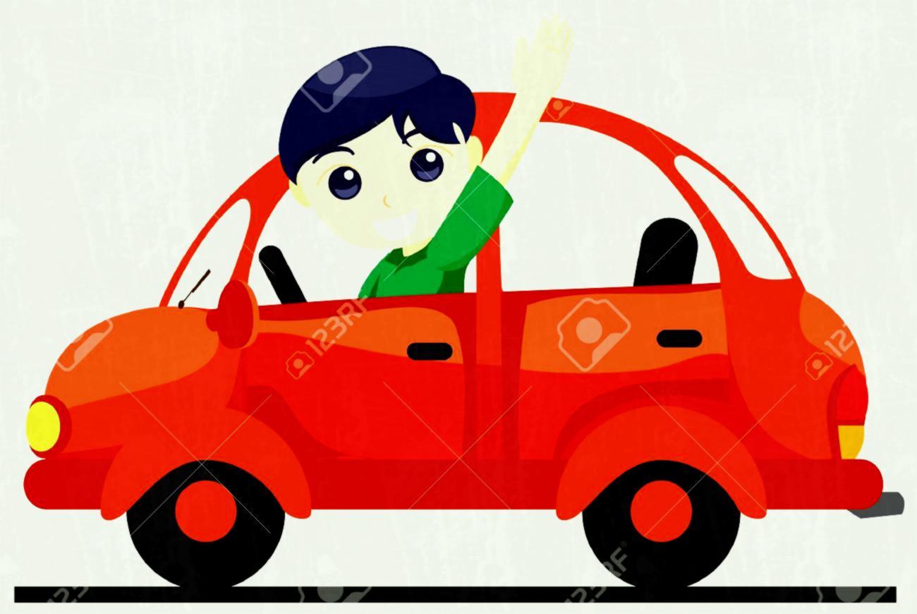 1300x870 Boy Driving Car Clipart Fair Clip Art