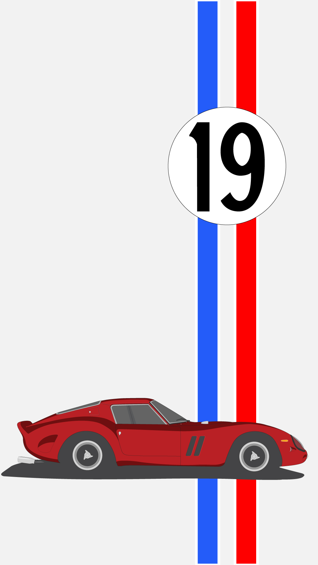 1080x1920 Ferrari 250 Gto 1962