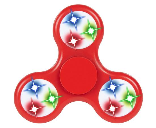 550x450 World Tech Toys Red Led Elite Fidget Spinner