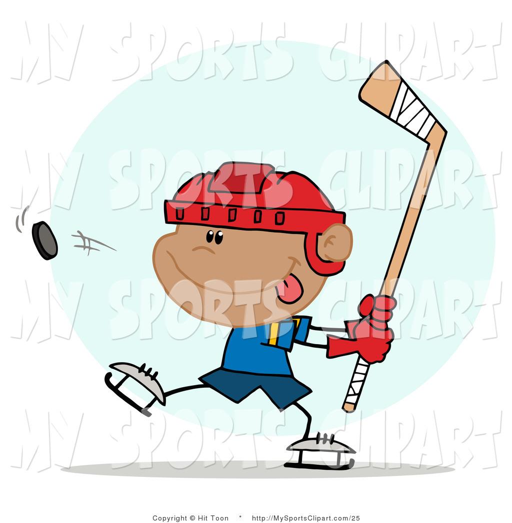 1024x1044 Sports Clip Art Of A Swinging Hockey Boy By Hit Toon