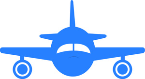 300x163 Free Airplane Clipart Image 0515 1011 1111 5504 Airplane Clipart