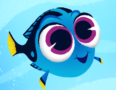 404x316 Finding Dory Fan Art On Behance