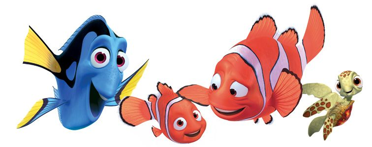 756x300 Finding Nemo Disney Gifs Clipart Free Clip Art Images Party
