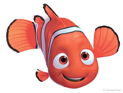 400x304 Clipart Of Character Of Finding Nemo