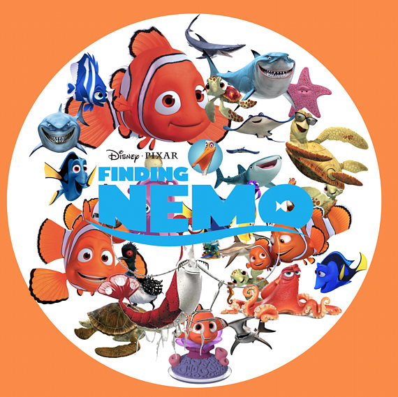 570x569 Finding Nemo Clipart 35 Png Digital Clipart Image Png