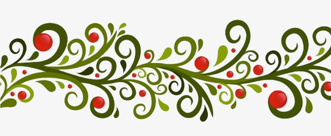 650x267 Fine Arts Soft Red Dot Green Vines Pattern, Refinement, Soft, Art