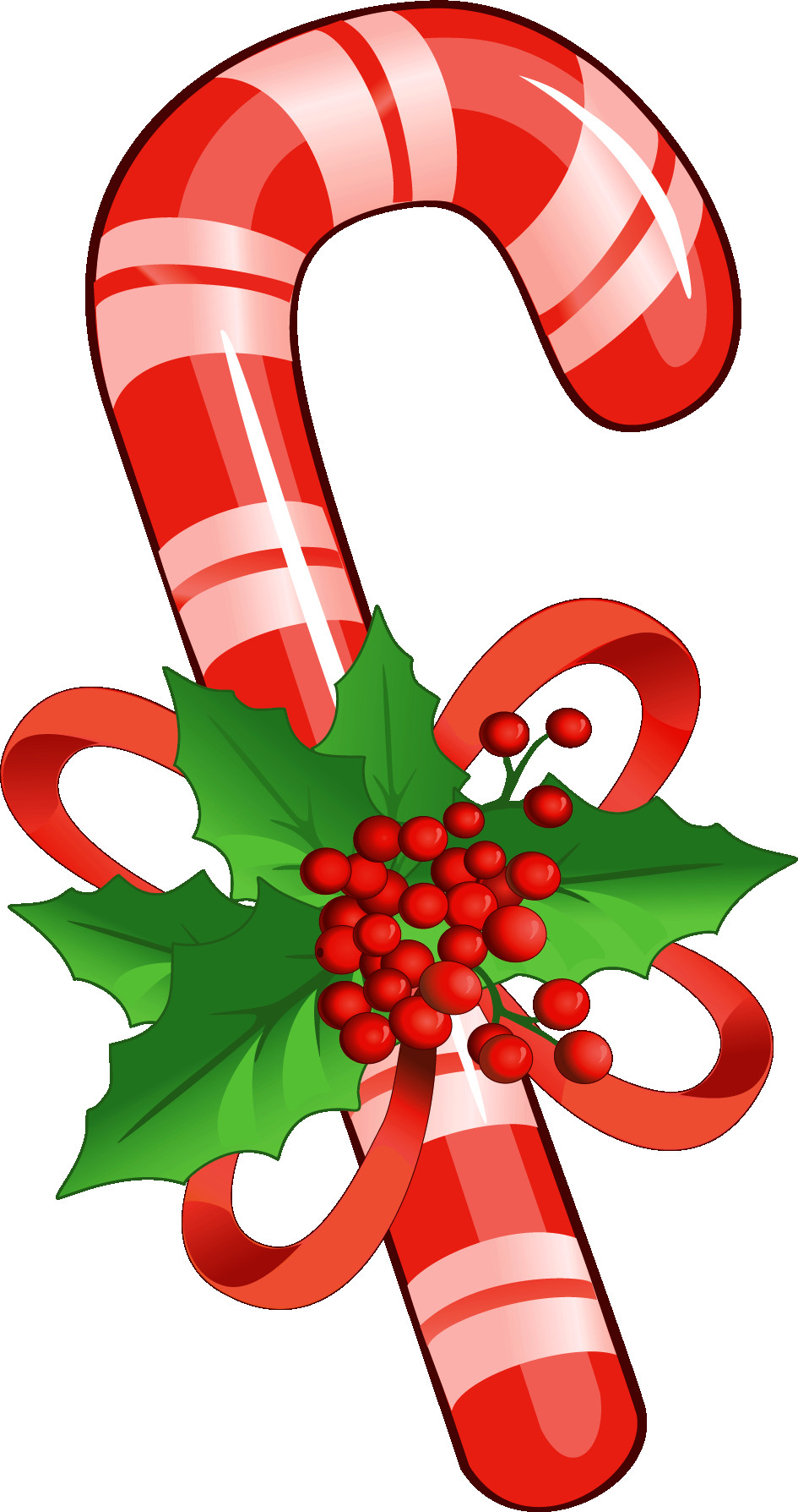 945x1788 Candy Cane With Mistletoe Png Clipart Gallery Yopriceville Fine