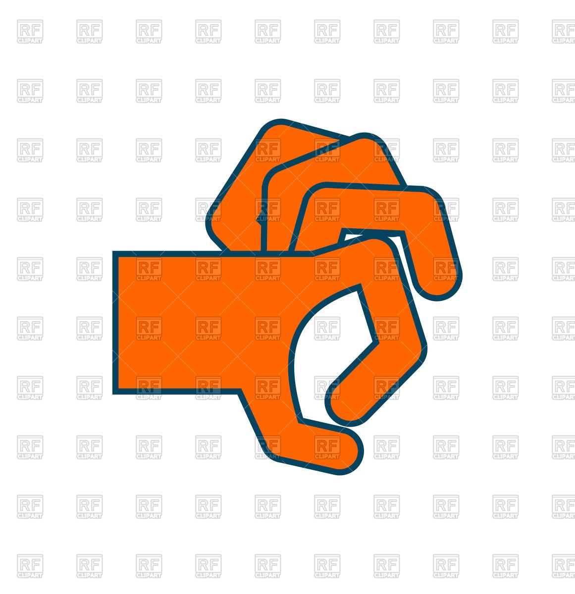 1161x1200 Flick Fingers Gesture Royalty Free Vector Clip Art Image