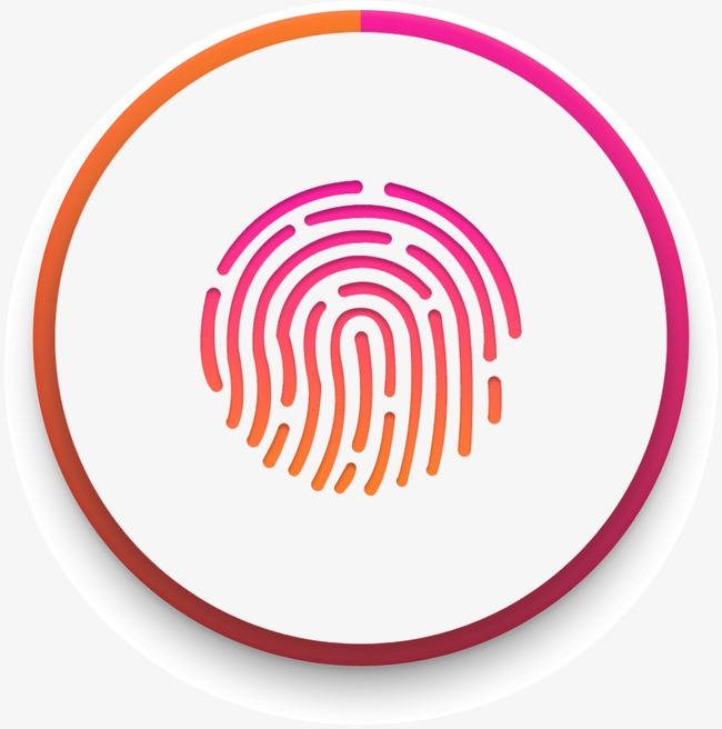 650x656 Creative Fingerprint, Creative, Color, Paper Grain Png Image