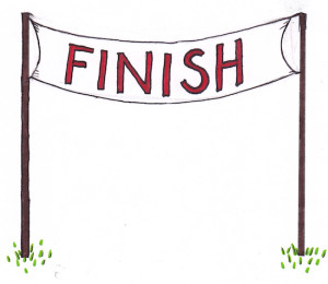300x260 Finish Line Clipart Png