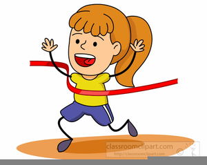 300x239 Runner Crossing Finish Line Clipart Free Images
