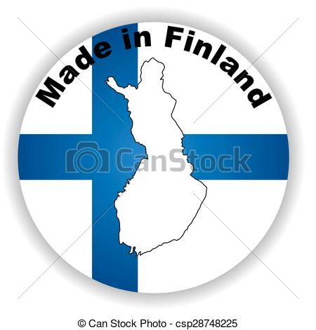 450x470 This Is Vector Made In Finland Vector Illustration