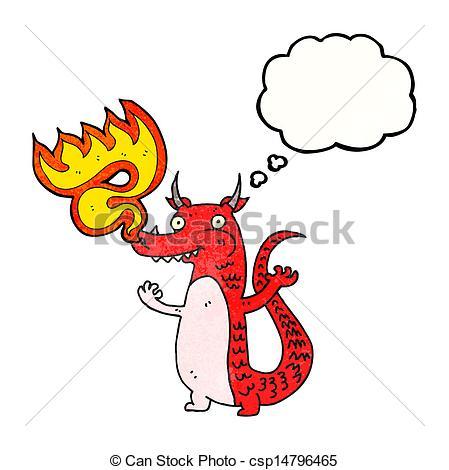 449x470 Cartoon Fire Breathing Dragon Clip Art Vector
