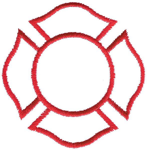 587x600 Clipart Maltese Cross