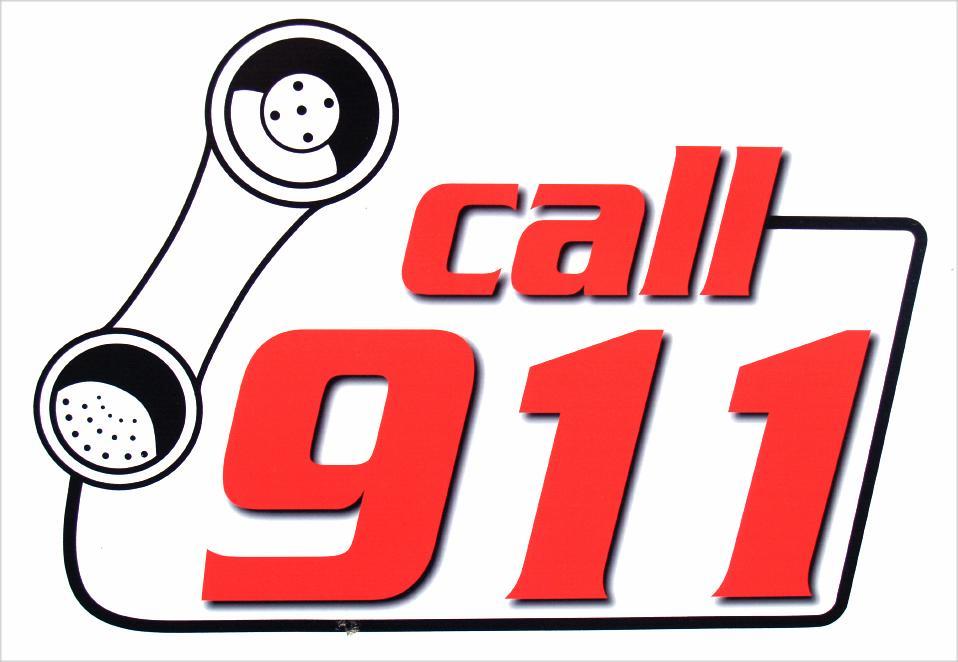 958x662 Dial 911 Fire Clipart