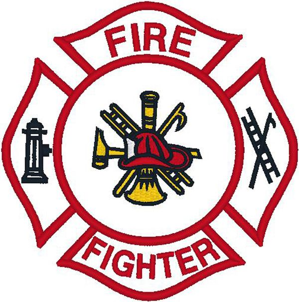 600x605 Fire Fighter Logo Distressed Firefighter Logo Fire Department T