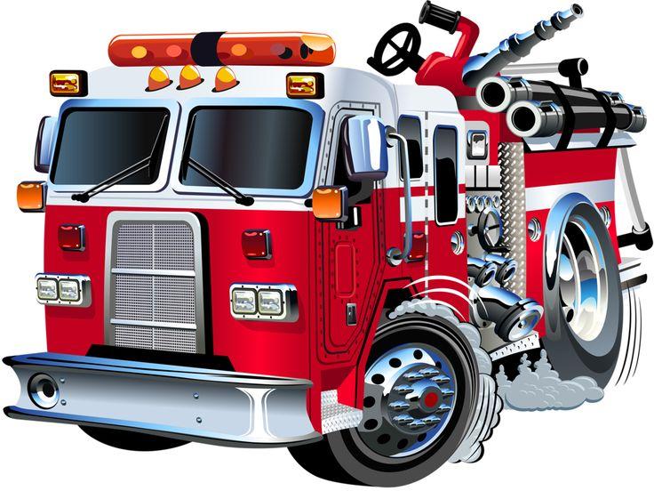 736x552 Fire Truck Clip Art