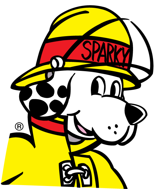 532x632 Fire Dog Safety Clipart