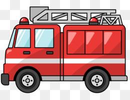 260x200 Car Fire Engine Siren Fire Department Clip Art