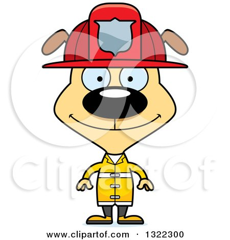 450x470 Royalty Free (Rf) Firefighter Dog Clipart, Illustrations, Vector