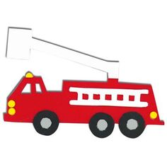 236x236 Fire Engine Template For The Boy Fire Engine
