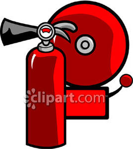 268x300 Fire Extinguisher And A Fire Alarm