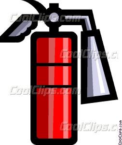253x300 Fire Extinguisher Vector Clip Art