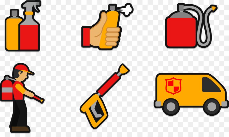 900x540 Firefighting Fire Extinguisher Clip Art