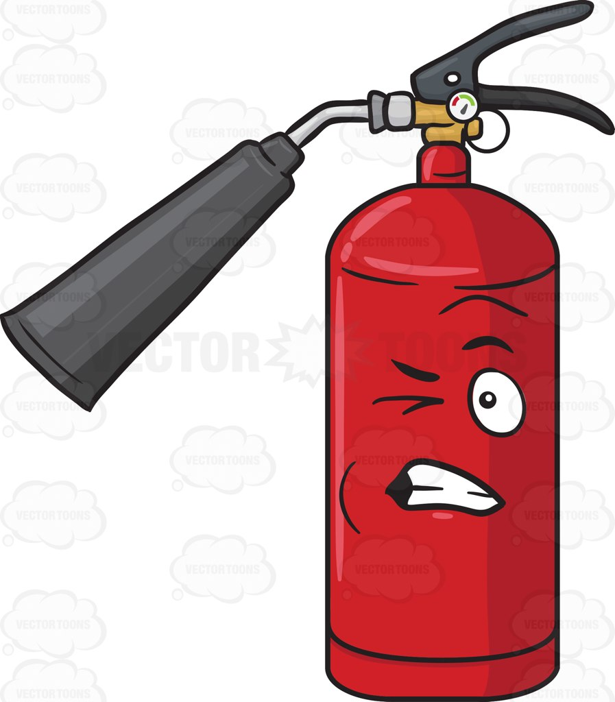 897x1024 Portable Fire Extinguisher Clipart