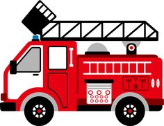 236x182 Fire Engine Clipart Image Cartoon Firetruck Creating Printables