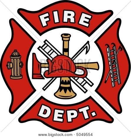 445x470 Fire Department Clip Art Borders