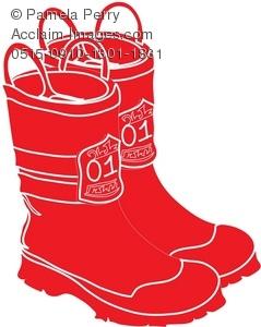 239x300 Firefighter Boots Clipart