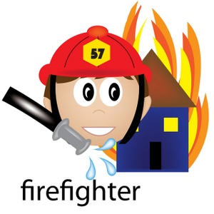300x300 Free Firefighter Clipart Image 0515 1001 1121 1104 Computer Clipart
