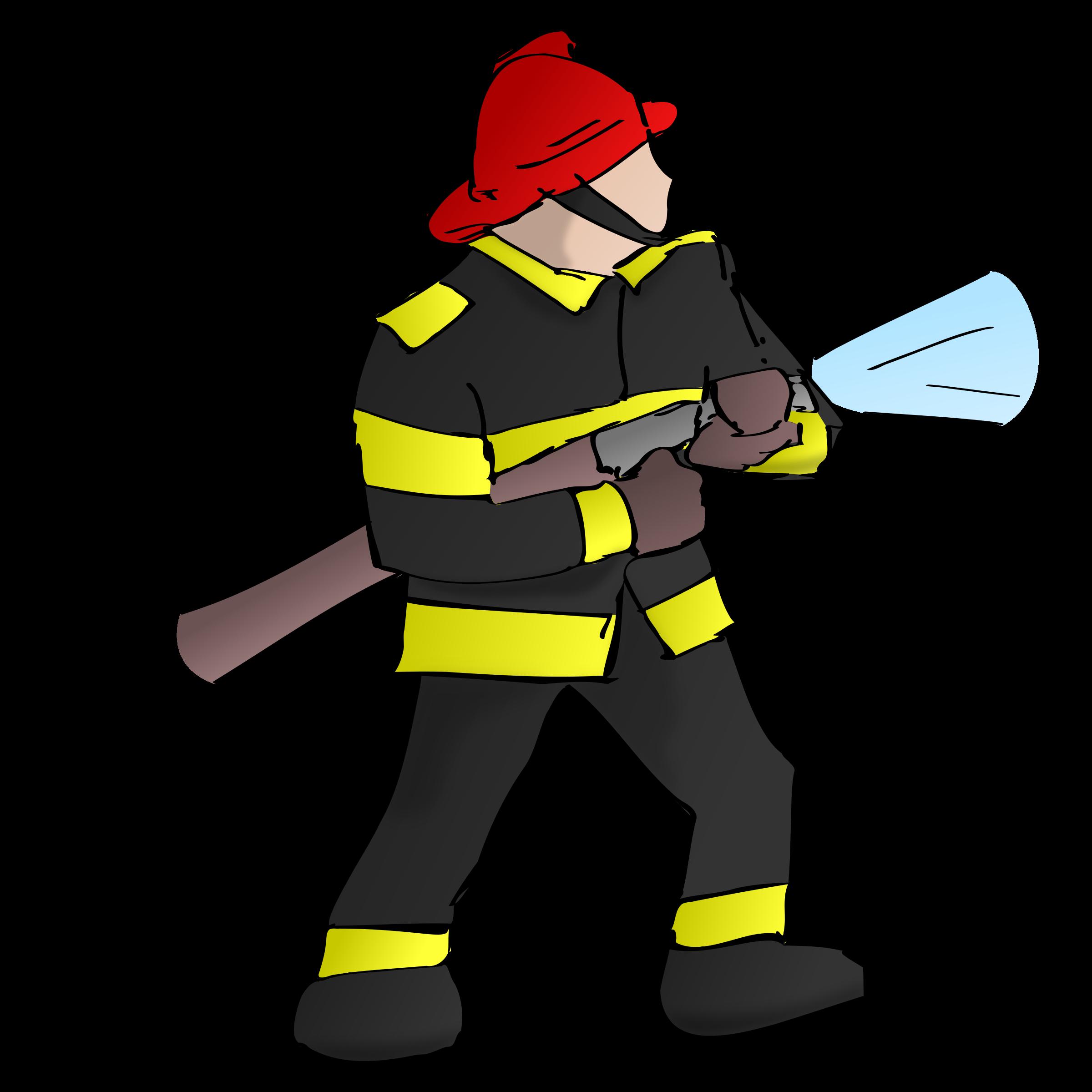 2400x2400 Firefighter Clipart Transparent