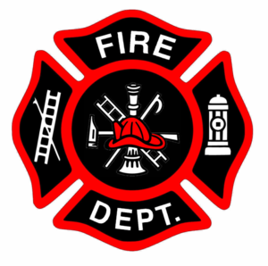 300x298 Fireman Bage New Red Hat Cut Clip Art Firefighters
