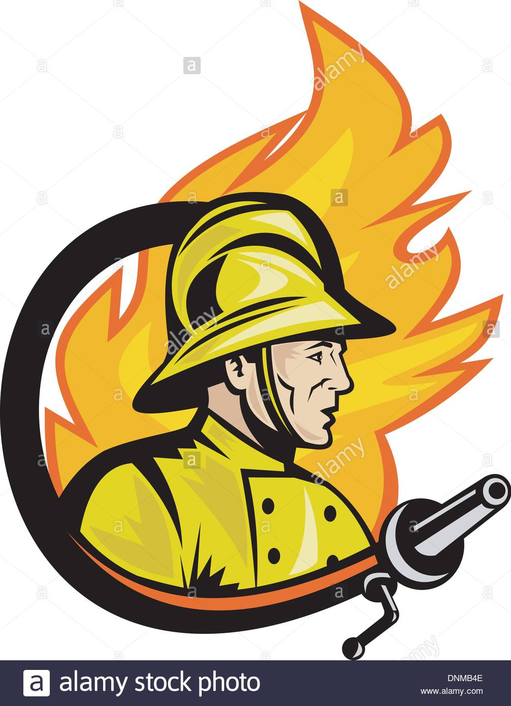 1006x1390 Firefighter Stock Vector Images
