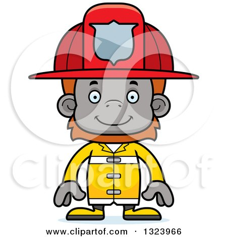 450x470 Firefighter Clipart Happy