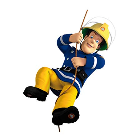 450x450 Fireman Sam Wall Stickers Create Your Own Scene Vinyl Wall Art