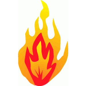 300x300 Flame Clipart Fireplace Fire 3536773