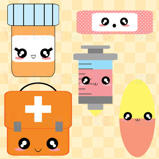 525x525 Free Clipart For Commercial Use Kawaii First Aid Clipart Doctor