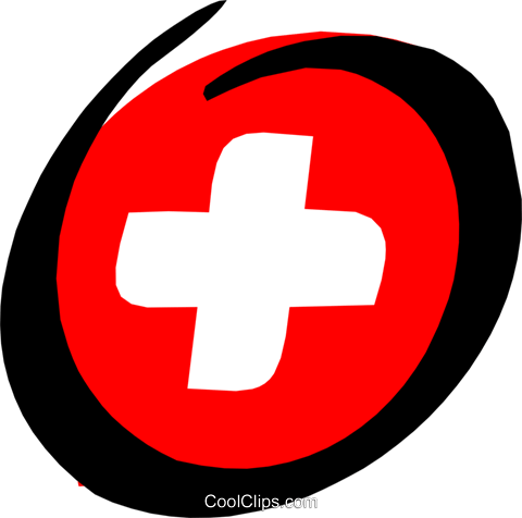 480x476 Medical First Aid Kit Royalty Free Vector Clip Art Illustration