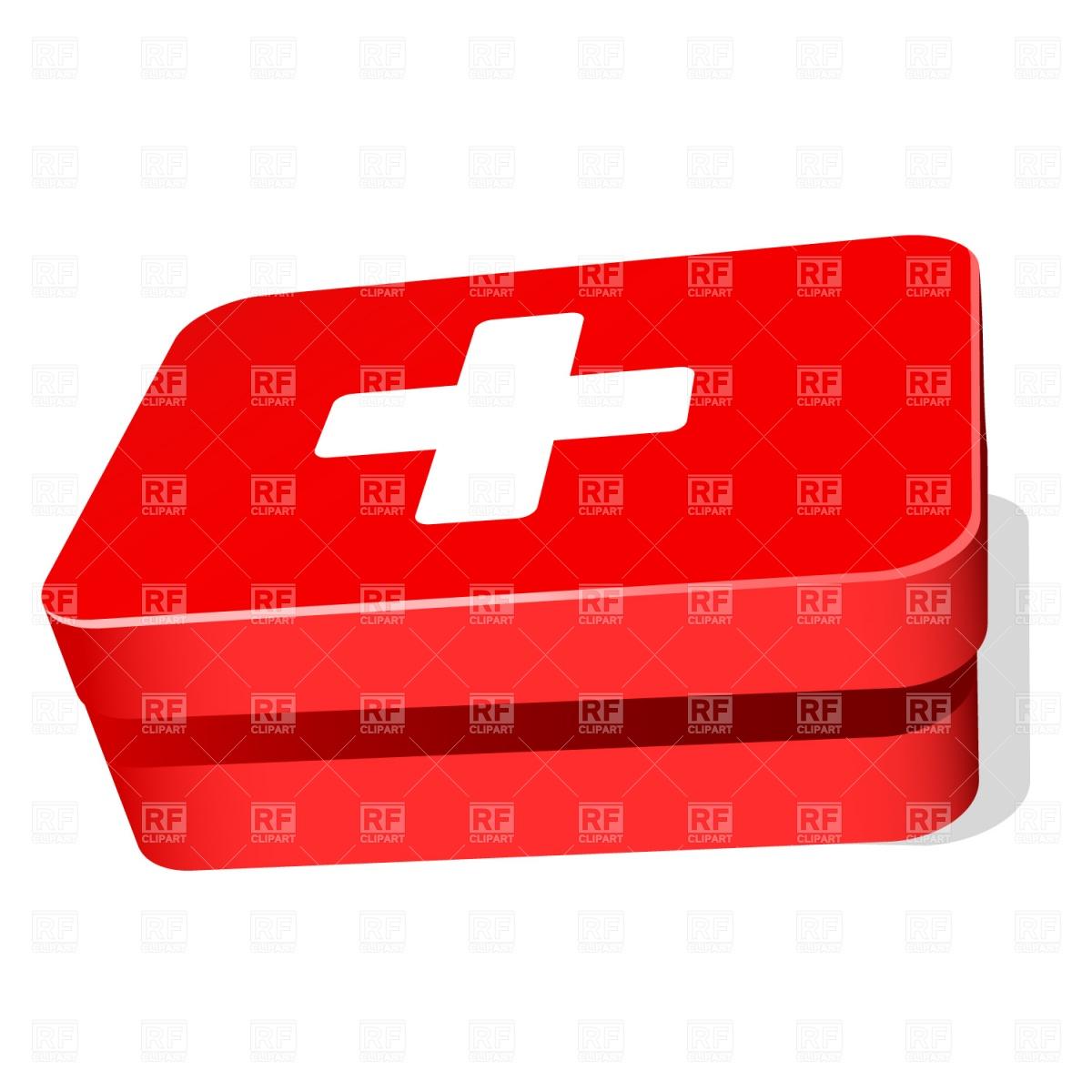1200x1200 Cartoon First Aid Kit Royalty Free Vector Clip Art Image